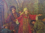 Шкатулка дореволюционная из под чая Салки в палатах, фото №4