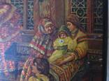Шкатулка дореволюционная из под чая Салки в палатах, фото №7