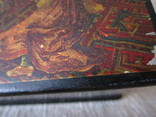 Шкатулка дореволюционная из под чая Салки в палатах, фото №8