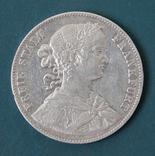 1 талер 1860(Франкфурт)