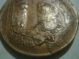 Медаль. Пётр - 1. Взятие крепости Ниеншанс датирована 1703 г. photo 12