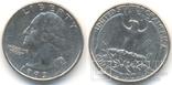 25 центов 1993 Р, фото №2