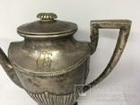 Кофейник (серебро 800 пробы), фото №6