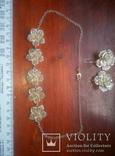Срібний кулон і підвіски 925п