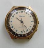 Часы Ракета 24 часа в позолоте ., фото №2
