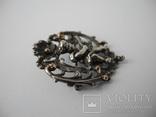 Старинная Винтажная Брош с Пути ( серебро ), фото №7
