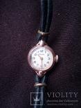 Женские часы Волга золотые photo 2