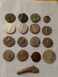 Лот монет денарии и бонус photo 2