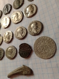 Лот монет денарии и бонус photo 6