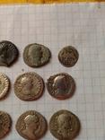 Лот монет денарии и бонус photo 9