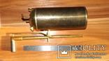 Бензиновая ювелирная горелка латуневая с клеймами, фото №3