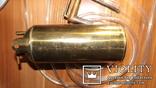 Бензиновая ювелирная горелка латуневая с клеймами, фото №4