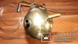 Бензиновая ювелирная горелка латуневая с клеймами, фото №7