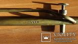 Бензиновая ювелирная горелка латуневая с клеймами, фото №11