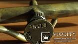 Бензиновая ювелирная горелка латуневая с клеймами, фото №12