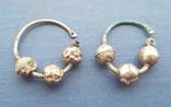 Серебряные колты КР photo 1