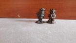 Солдатик Мушкетер и Король киндер металл номерной 4, фото №2