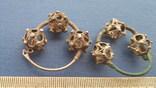 Серебряные колты КР Позолота photo 6