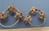 Серебряные колты КР Позолота photo 9