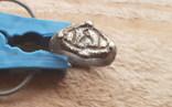 Серебряный перстень с тамгой photo 1