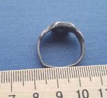 Серебряный перстень КР с тамгой photo 5