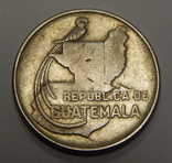 20 центавос, 1943 г Гватемала photo 2