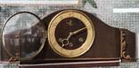Часы каминные GOLDA с четверным боем, Германия. На ходу., фото №2