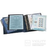 317159. Альбом Leuchtturm, Grande для монет в холдерах или банкнот, с футляром, зеленый фото 2