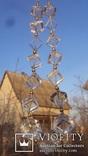 Бусы золото, горный хрусталь. photo 10