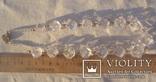 Бусы золото, горный хрусталь. photo 12