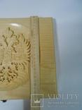 Планшет для монет Царской России. Дерево. Ручная робота. 28*24см photo 8