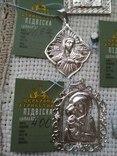Лот срібних кулонів, фото №6