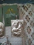 Лот срібних кулонів, фото №7