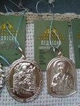 Лот срібних кулонів, фото №8