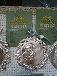 Лот срібних кулонів, фото №9