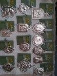Лот срібних кулонів, фото №11