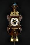 Настенные маятниковые часы WUBA с боем. Винтаж. Голландия. (061)