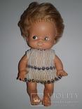 Мягкая кукла ГДР в родной одежке