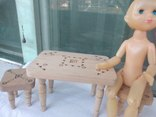 Мебель для кукол натуральное дерево, фото №6
