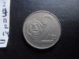 2 кроны 1986  Чехословакия    (П.2.14)~, фото №4