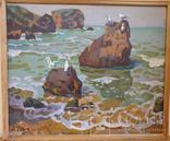 Берег Азовского моря , А.Костенко , 1972