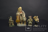 Старинные статуэтки из Папье Маше Friedel Sonneberger Figur photo 1