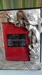Фоторамка с покрытием из серебра, Италия