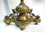 Старинные бронзовые подсвечники канделябры ( Модерн ), фото №5