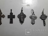 Крестики 875 и 925 пробы, фото №4