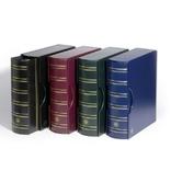 Альбом Leuchtturm, Grande gigant для монет или банкнот, с футляром, черный. 306703