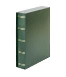 Кляссер Elegant с 60 чёрными страницами и защитной кассетой. 1169SK- G. Зелёный. фото 2
