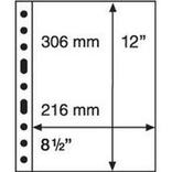 Лист к альбому Leuchtturm, GRANDE, для банкнот, 1C. 321709