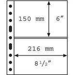 Лист к альбому Leuchtturm, Grande, для банкнот, 2С. 336439