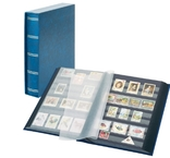 Кляссер Elegant с 60 чёрными страницами и защитной кассетой. 1169SK- B. Синий.